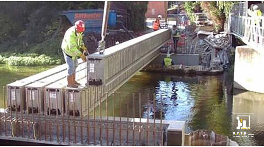 بتن پیش تنیده در ساخت پل