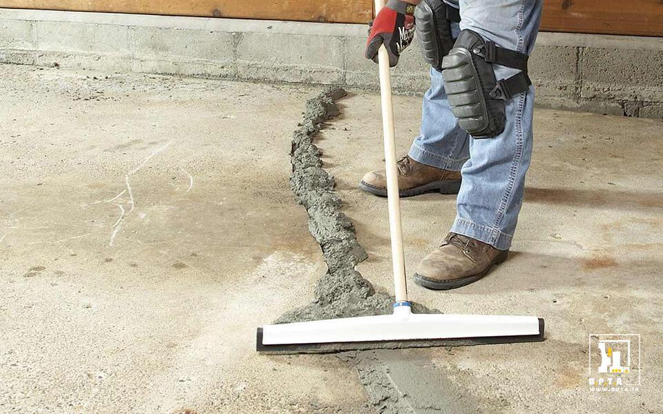 آسان بودن تعمیرات بتن